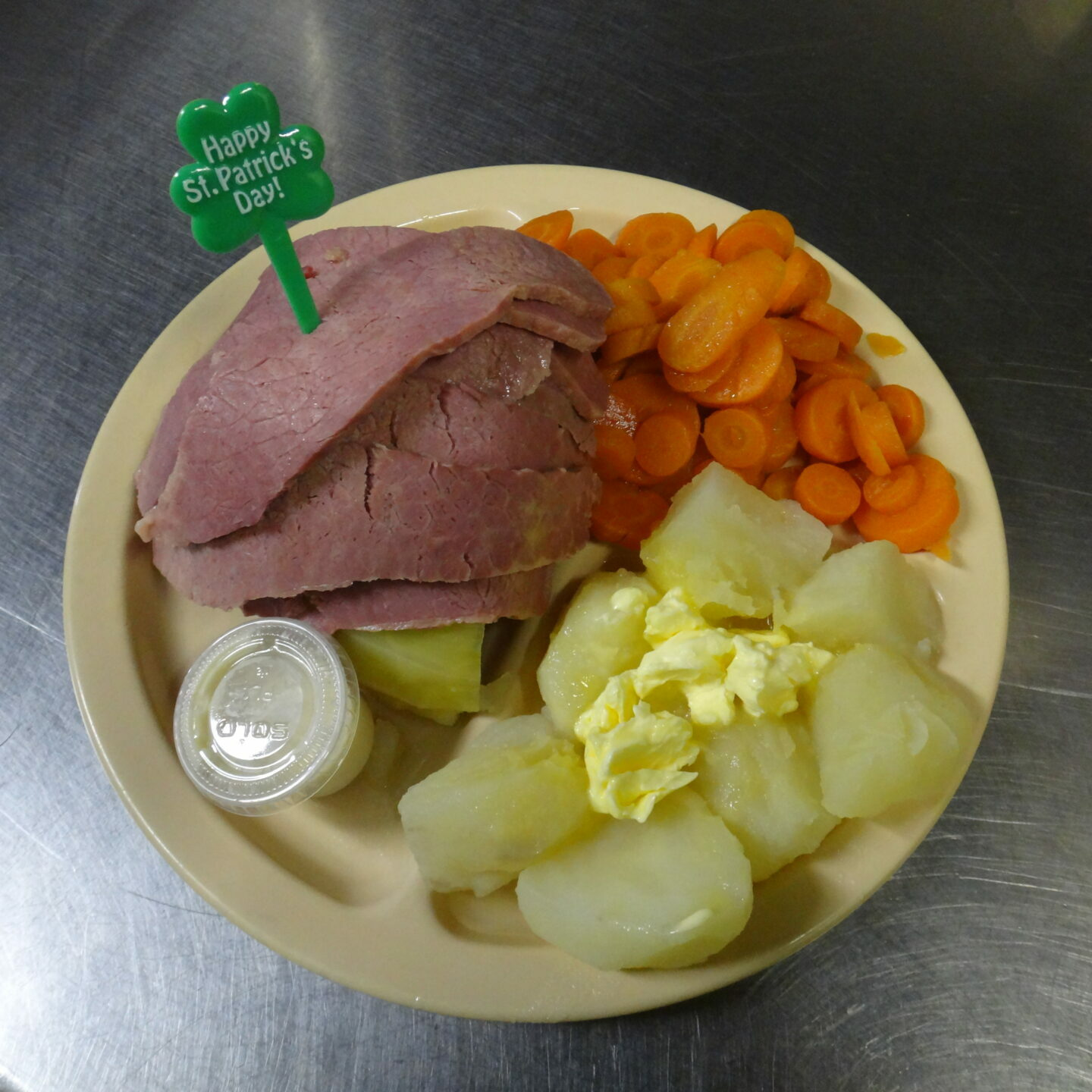 Corned Beef Dinner Picture